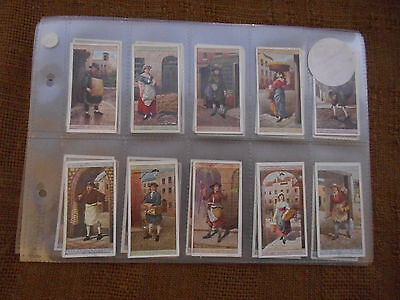 FULL SET CIGARETTE CARDS - PLAYERS CRIES OF LONDON 2nd SERIES