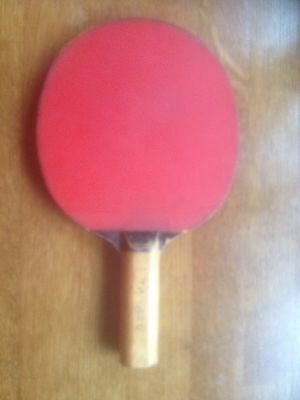 "Butterfly ""Tamasu Style"" Early 1970s Table Tennis Bat Vintage"