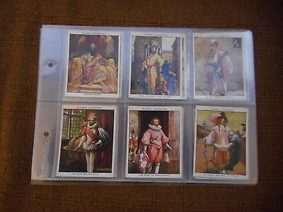 Full Set Cigarette Cards - Players Dandies Large Sized