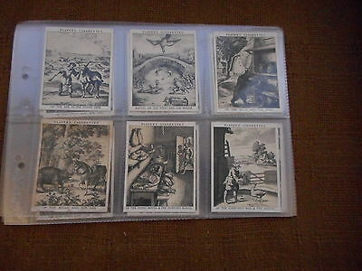 Full Set Cigarette Cards - Players Fables Of Aesop