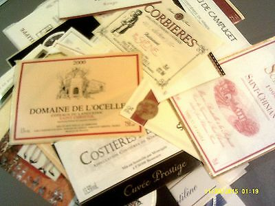 165 differents from LANGUEDOC-ROUSSILLON DOCs Lot C-4 (see list)