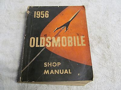 1956 Oldsmobile Shop Manual, Good Condition.