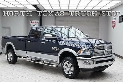 2013 Dodge Ram 2500 Laramie Crew Cab Pickup 4-Door 2013 Dodge Ram 2500 Diesel 4x4 Laramie Navigation Long Bed 1 Texas Owner