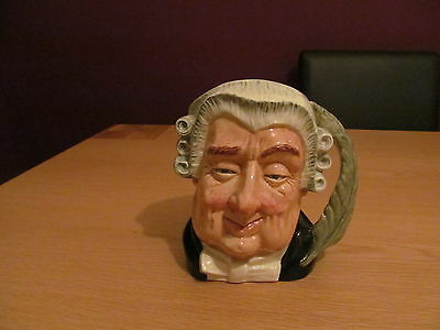 royal doulton toby jug the lawyer large