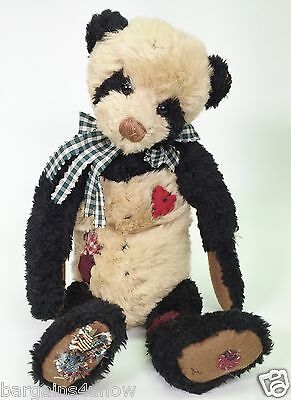 Ganz Cottage Collectibles Patches Bear Used