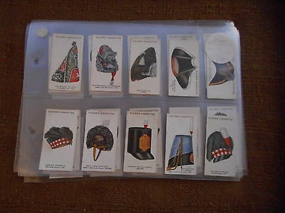 Full Set Cigarette Cards - Players Military Head Dress