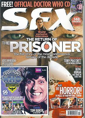 SFX magazine #188 November 2009 Doctor Who with free Tom Baker CD