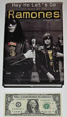 Book: Hey Ho Let's Go - The Story Of The Ramones, 2002 HardCover Book, 344 pgs V
