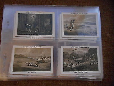Full Set Cigarette Cards - Players Old Sporting Prints