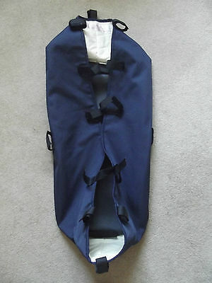 BUGABOO Frog Bassinet Navy Blue Canvas Fabric Carrycot baby newborn Cameleon