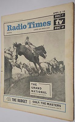 Radio Times April 6th 1967 - The Grand National cover