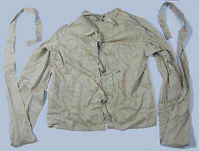 Autentic Vintage Straitjacket From Madhouse Military Surplus Army Straigh Jacket