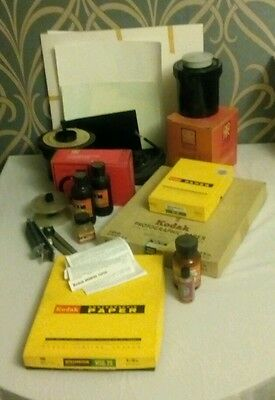 Job Lot Of Old Vintage Photography Items & Equipment Collectable