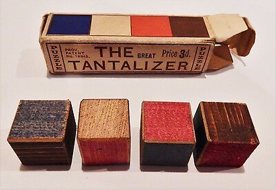 The Great Tantalizer Vintage (1920's?) Wooden Puzzle RARE COLLECTORS ITEM