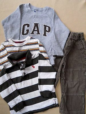 Mixed lot Toddler boys outfits size 3 T / shirts & pant/Carter's/ Gap/ Place/Son