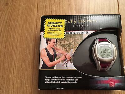 Kelly Holmes Sports Watch And Heart Rate Monitor