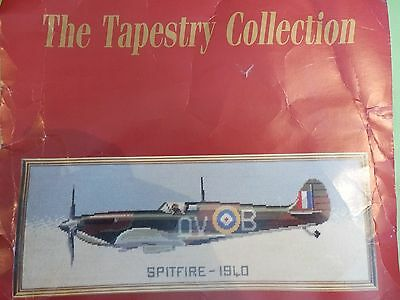 Part started Counted Tapestry kit, SPITFIRE by Twilleys Fabulous quality