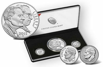 2015 MARCH OF DIMES Proof Special Silver 3 Coin Set Reverse Proof W Mint Dime