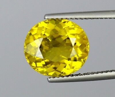 IF 5.7 Ct Ultra Rare Awesome Yellow Color Natural Olivine Peridot