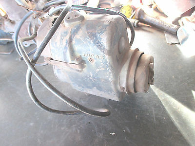 -6--Magneto  Vintage  Lucas  Marine   Type  3    ---Turning  Over  --As  Is