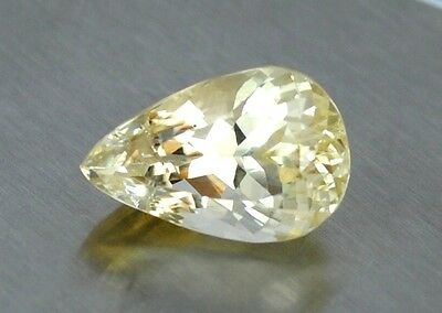 IF 16.8 Ct  Top Quality Sparkling Color Deep Yellow Natural Kunzite