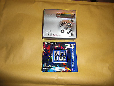 sony walkman portable MD recorder MZ R501   funktioniert works see fotos
