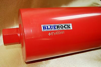 "NEW- 6"" Diamond WET Coring Bit For Concrete Core Drill by BLUEROCK ® Tools"