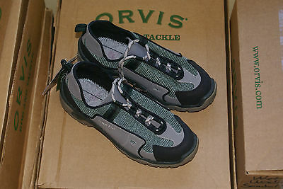Orvis Premium Wading Boot  Size 7  New in Box Gray / Green