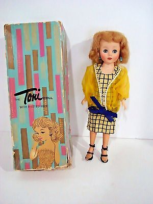 "Rare find 11"" TONI fashion Doll  Charleston MIB American Character IDEAL DOLL"