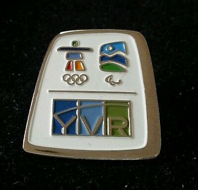 Vancouver 2010 Olympic / Paralympic YVR Vancouver Airport  pin