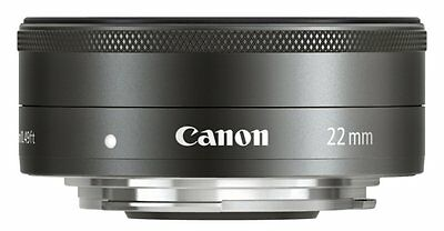 CANON EF-M 22 mm f/2 STM Pancake Lens **Brand New UK Stock** RRP-£229.00