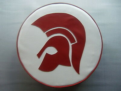 Large Trojan Head Scooter Wheel Cover