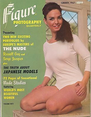 FIGURE PHOTOGRAPHY QUARTERLY Summer 1967 Magazine RUSSELL GAY Serge Jacques VF