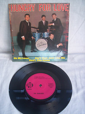 The Searchers, Hungry For Love, E.p.,1963 Autographed,signed,excellent Condition
