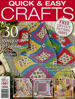 Quick & Easy Crafts  Magazine No 2.   2009  Pattern Sheet Inside