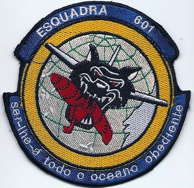 Portuguese Air Force Portugal 601 Esquadra P-3 Orion Old Patch Parche