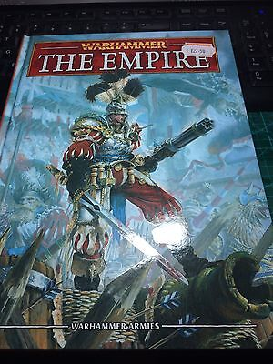 Warhammer Fantasy The Empire 8th Edition Army Book (NEW)