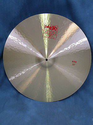 Paiste 2002 Classic 22'' Ride Cymbal - Excellent Used Condition