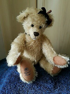 robin rive limited edition mohair trish bear collectable