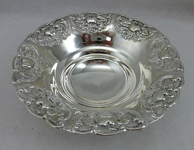 Sterling Silver 925 Fruit Candy Nut Dish Bowl 86 Grams