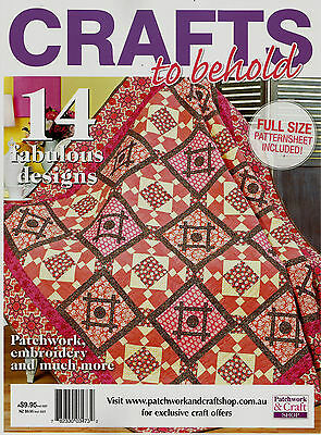 Crafts To Behold  Magazine 2015  Pattern Sheet Inside