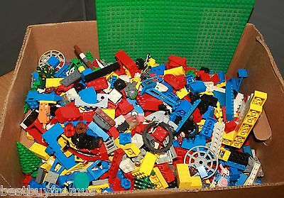 4.5kg Lego mixed bundle of bricks, parts, and pieces/ Pre used