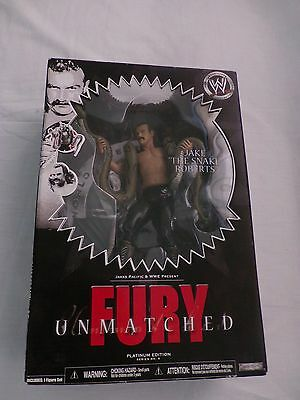 "Wwe Collectible  Jake ""the Snake""  Roberts Fury  Unopened  Rare"