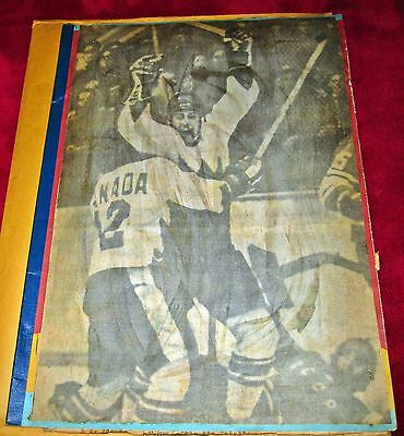 Hockey Scrap Book, Canada-Russia Series, 1972