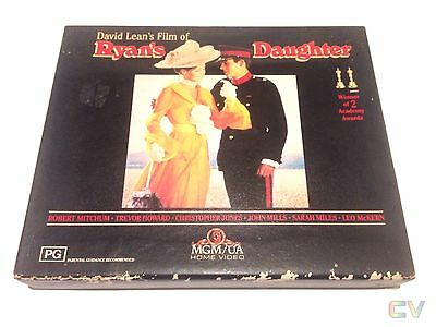 Ryan's Daughter Beta Betamax Movie Video Cel Rated PG Double Cassette Tape Boxed
