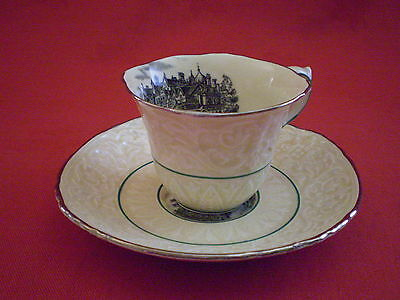 "Rare Vintage ""royal Cauldon""cup And Saucer From Royal Castles Range"
