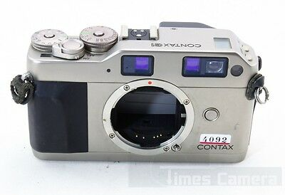 Contax G1 35mm Rangefinder Film Camera Body