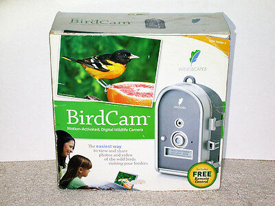 Wingscapes BirdCam Motion-Activated Digital Wildlife Camera