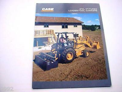 Case 570L XT/Turbo Loader Tool Carriers Brochure 8 Pages