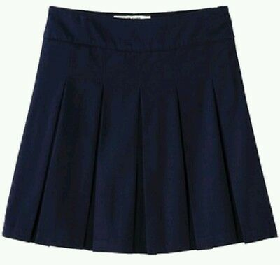 Nwt Cherokee Pleated Skirt Uniform With Attached Shorts Youth Girls Size 4 - 14
